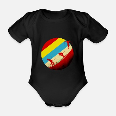 Ski Area Ski Area - Organic Short-Sleeved Baby Bodysuit