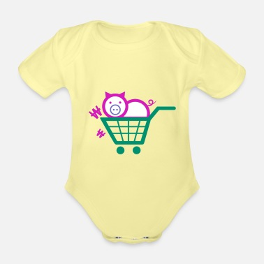 Sow sow - Organic Short-Sleeved Baby Bodysuit