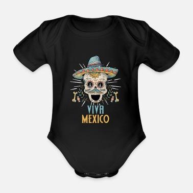 3ee7abc1e Mexicano Raíz mexicana mexicana raíces mexicanas - Body de manga corta bebé