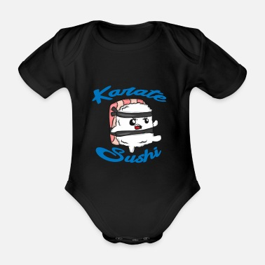 Japan Sushi food Japan gift - Organic Short-sleeved Baby Bodysuit