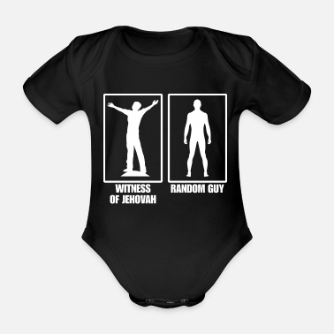 Religious Jehovah's Witnesses Faith Cool gift - Organic Short-sleeved Baby Bodysuit