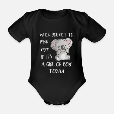 Animal Animal keeper Animal keeper Koala Bear - Organic Short-Sleeved Baby Bodysuit