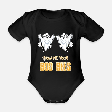 Bee Boo Bees - Show Me Your Boo Bees - Ladies - Organic Short-Sleeved Baby Bodysuit