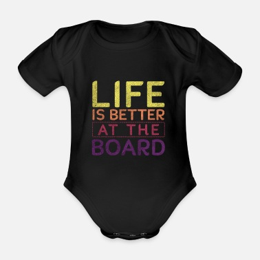 Sup board stand up paddle boarding - Organic Short-Sleeved Baby Bodysuit