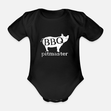 Bbq BBQ - Organic Short-Sleeved Baby Bodysuit