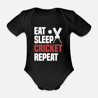 Cricket Cool Funny Cricket T Shirts Memes Saying Gift - Organic Short-sleeved Baby Bodysuit