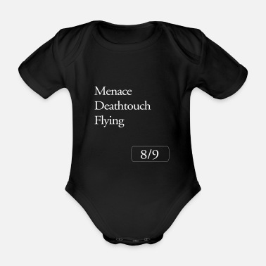 Magic Magic the Gathering Menace Deathtouch Flying - Organic Short-Sleeved Baby Bodysuit