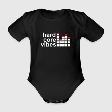hard core  vibes equalizer r - Baby Bio-Kurzarm-Body