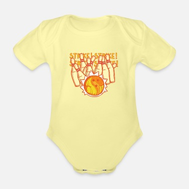 Hits Hit! Hit! - Organic Short-Sleeved Baby Bodysuit