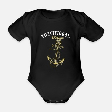 Tradition traditional - Organic Short-Sleeved Baby Bodysuit