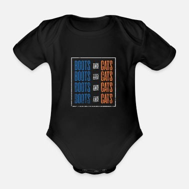 Techno Music Music - Techno - Organic Short-sleeved Baby Bodysuit