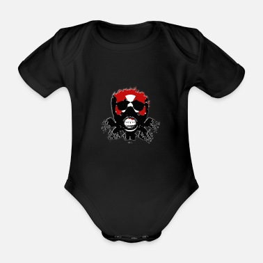 Raider Raider - Organic Short-Sleeved Baby Bodysuit