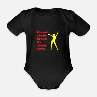 It's not about the brand - Organic Short-Sleeved Baby Bodysuit