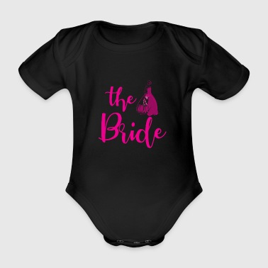 Hen party wedding bridal gift - Organic Short-sleeved Baby Bodysuit