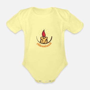Advent Advent - Organic Short-Sleeved Baby Bodysuit