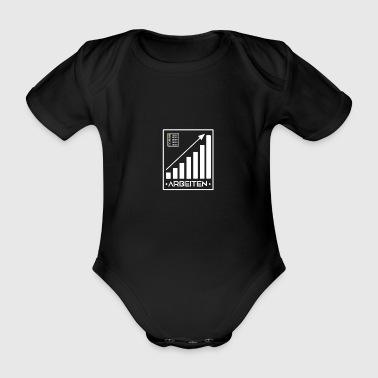 Works for the success, gift, gift idea - Organic Short-sleeved Baby Bodysuit