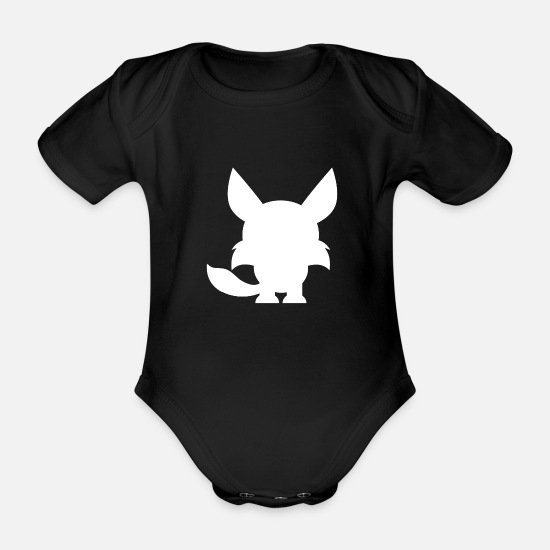 Animal Planet Baby Clothes - Animals Animals Animal Print Nature 2 - Organic Short-Sleeved Baby Bodysuit black