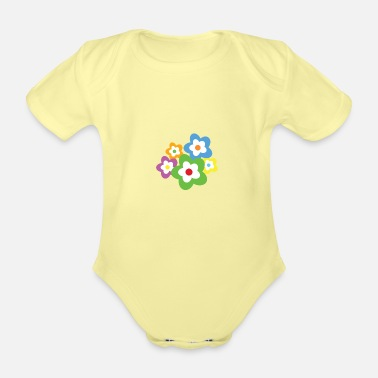 Occasion A bouquet of flowers for all occasions - Organic Short-Sleeved Baby Bodysuit