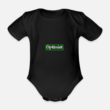 Optimist Optimist - Baby Bio Kurzarmbody