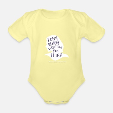 Mental Mental Health - Organic Short-Sleeved Baby Bodysuit