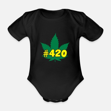 420 #420 - Organic Short-Sleeved Baby Bodysuit