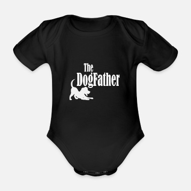 Buy The dogfather - Organic Short-Sleeved Baby Bodysuit
