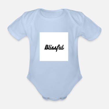 Bliss Blissful - Organic Short-Sleeved Baby Bodysuit