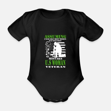 Soldier Of Fortune soldier - Organic Short-Sleeved Baby Bodysuit