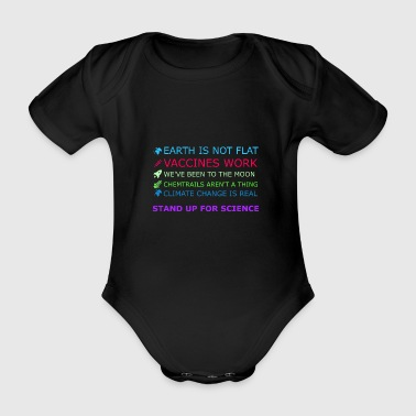 stand up for science - Das Kultshirt - Baby Bio-Kurzarm-Body