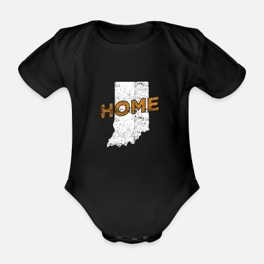 Distressed Indiana Home Distressed - Baby Bio Kurzarmbody