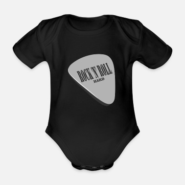 Rock N Roll Rock 'n' Roll Hard - Organic Short-sleeved Baby Bodysuit