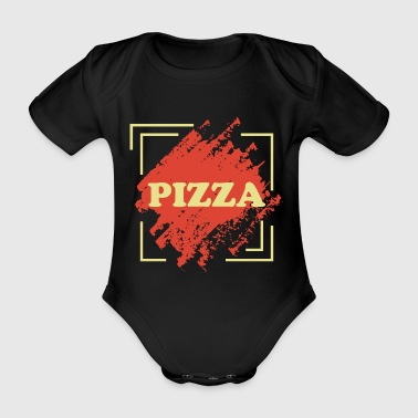 Neapel Pizza Margherita - Baby Bio-Kurzarm-Body