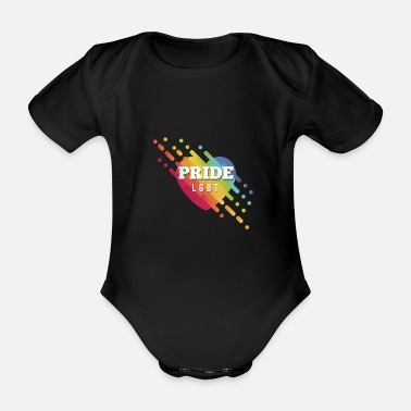 Rally A point of pride - Organic Short-sleeved Baby Bodysuit