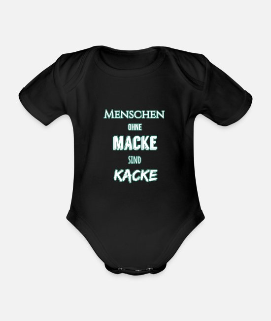 Embarrassing Baby Bodysuits - People without a problem .... - Organic Short-Sleeved Baby Bodysuit black