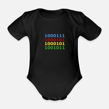 Geek Geek - Organic Short-Sleeved Baby Bodysuit