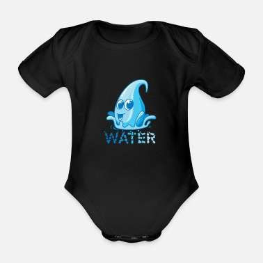 Geschenkiedee The most important asset of the earth, water - Organic Short-Sleeved Baby Bodysuit