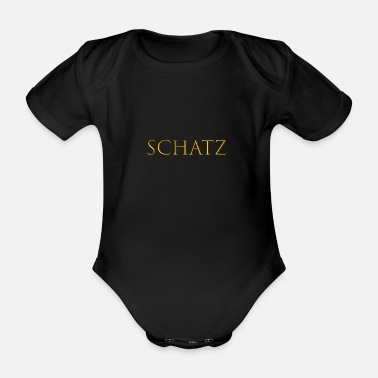 Treasure treasure - Organic Short-sleeved Baby Bodysuit