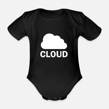 Cloud Cloud - cloud - Organic Short-Sleeved Baby Bodysuit
