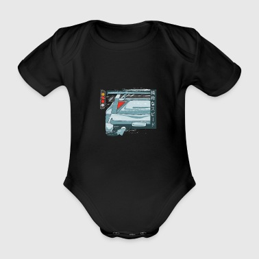 Road Racing Racers Car Racing Drag Racing - Body ecologico per neonato a manica corta
