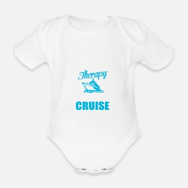 Therapy therapy - Organic Short-Sleeved Baby Bodysuit