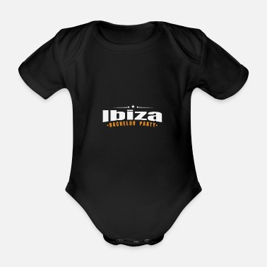 Hirse Bachelor Party Shirt Ibiza Pre Wedding - Økologisk kortermet baby-body