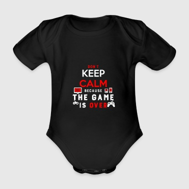 Console Gaming - Organic Short-sleeved Baby Bodysuit