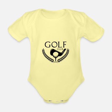 Golf Golf club - Baby Bio Kurzarmbody