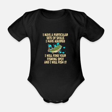 Big Sister Funny Do You Have The Skills To Survive? People - Organic Short-Sleeved Baby Bodysuit