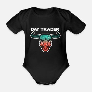 Tradition Day Trader Trader Bulle - Body Bébé bio manches courtes