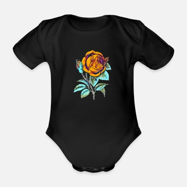 Collections Rose - Baby Bio-Kurzarm-Body