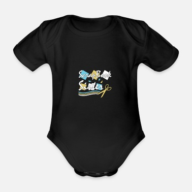 Tinker Scrapbooking Scrap Gift Hobby Photos Crafting - Organic Short-Sleeved Baby Bodysuit