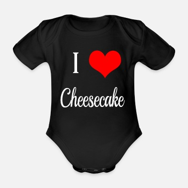 Cheesecake I Love cheesecake - Body neonato a manica corta