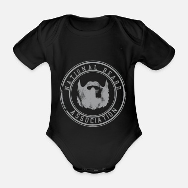 Association National Beard Association / Vintage - Ekologisk kortärmad babybody