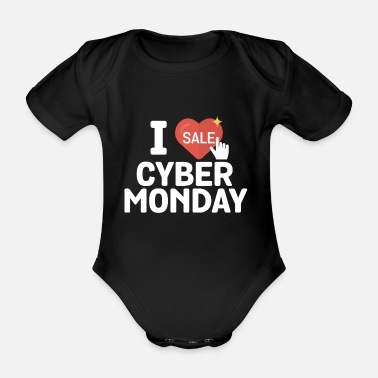 Online J'adore Cyber ​​Monday Online Shopper - Body bébé bio manches courtes